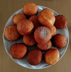 Magwinya are an absolute favorite in Botswana. This tasty street food is often sold along with fried chips. Here's the recipe for these doughnuts.