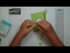 Top Note gift card holder with Dawn - YouTube