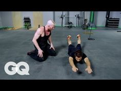 MUAY THAI: Core Workout - GQ's Fighting Weight Series - YouTube