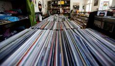 """Le """"Disquaire day"""" célèbre le retour en force du vinyle - L'Express"""