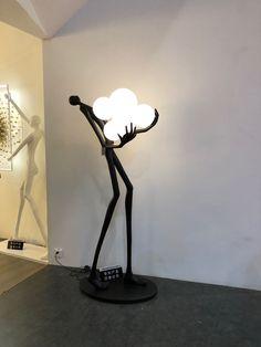 Unique Lighting, Lighting Design, Wall Sculptures, Sculpture Art, Florida Decorating, Arch Light, I Love Lamp, Elements Of Art, Lamp Design