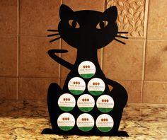 Keurig K-cup holder/Keurig kcup holder/Coffee pod holder/Cat k-cup holder/Cat k-cup display/Keurig K-cup display/The Coffee Cat