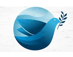 """Check out new work on my @Behance portfolio: """"Peace Dove Icon."""" http://be.net/gallery/61203743/Peace-Dove-Icon"""