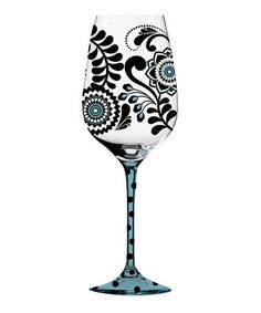 http://www.zulily.com/invite/sgomez1535        This Dark & Stormy Wine Glass is perfect! #zulilyfinds