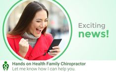 Chiropractic Clinic, Family Chiropractic, Holistic Approach, Exciting News, Health Goals, Live Events, Helping People, Wednesday, September