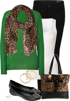 Make this look even better:  Substitute Green Sweater for CAbi's Fall 11 Green Pea Coat!  Classic, Clean and Chic!