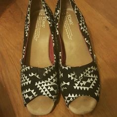 Spotted while shopping on Poshmark: Toms Tribal Wedge! #poshmark #fashion #shopping #style #TOMS #Shoes