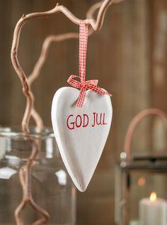 God Jul (Merry Christmas). Swedish.