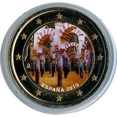moneda conmemorativa 2 euros España 2010 Cordoba. Color