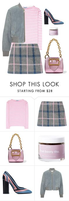 """""""Game Plan"""" by cherieaustin ❤ liked on Polyvore featuring Prada, Burberry, Anese, Lanvin and See by Chloé"""