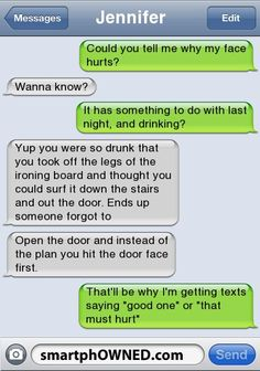 Drunk Door - Other - Nov 23, 2011 - Autocorrect Fails and Funny Text Messages - SmartphOWNED