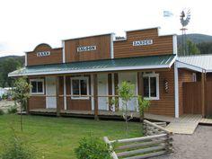 The Mozey-On-Inn motel in historic Coalmont, B.C.