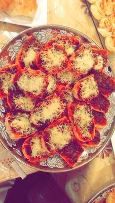 Mini pizza au kefta