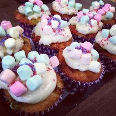 Banana and Marshmallow Muffins
