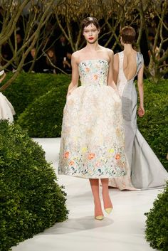 If only I were this sweet, I'd pawn all I own. Paris Haute Couture Week: Christian Dior
