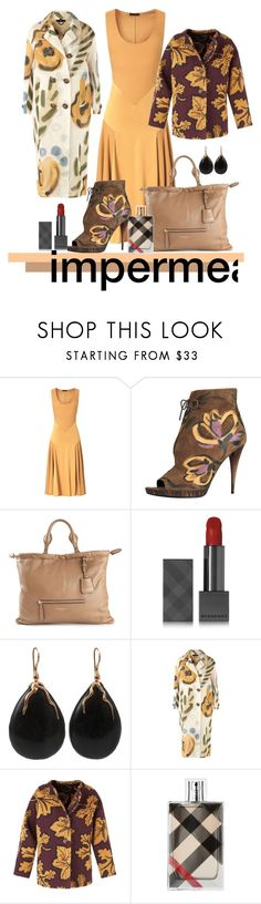 """Sem título #575"" by manarosachoque ❤ liked on Polyvore featuring Burberry and Lucifer Vir Honestus"