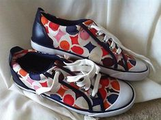Brand New Coach Tennis Shoes - Retail $150? Yours for $39.99!