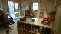 """Thought I'd share our new Playroom with yourselves courtesy of Dunster House - I'm a Childminder and wanted my home back. The Modetro cabin was perfect! It was so easy to build and the double glazed windows and floor/walls and ceiling insulation works so well at keeping the heat in. Happy kiddies that's for sure!"" -Carley Stewart"