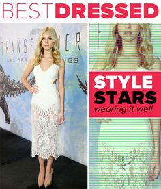 Best Dressed: Nicole Peltz Lovely in Lacy Dolce & Gabbana and Stella McCartney