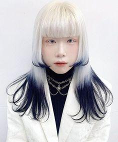 Hair Inspo, Hair Inspiration, Hair Reference, Aesthetic Hair, Dream Hair, About Hair, White Hair, Pretty Hairstyles, Hair Goals