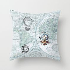 Steampunk Bedroom Duvet Cover Or Comforter In Blue Hot