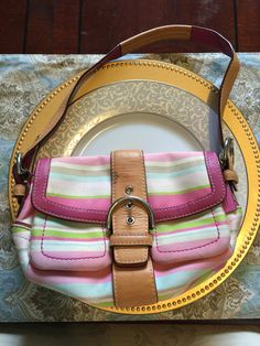 Coach small handbag - GUC. For trade only.
