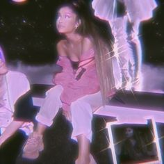 Find images and videos about pink, aesthetic and purple on We Heart It - the app to get lost in what you love. Wall Collage Decor, Bedroom Wall Collage, Photo Wall Collage, Picture Wall, Picture Collages, Ariana Grande Pink, Photos Ariana Grande, Pink Tumblr Aesthetic, Dark Purple Aesthetic