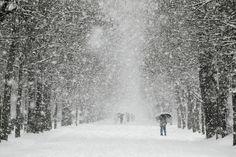 snowfall in Itally