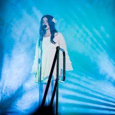 Lana performing at 'Lollapalooza', Chicago, Illinois