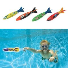 Cheap pool diving games, Buy Quality swimming pool dive directly from China swimming pool dive toys Suppliers: 4 Pcs/Pack Torpedo Rocket Throwing Toy Swimming Pool Diving Game Summer Torpedoes Bandits Children Underwater Dive Sticks Toy Children Swimming Pool, Swimming Pool Toys, Swimming Diving, Outdoor Swimming Pool, Water Pool Games, Pool Fun, Play Pool, Pool Water, Small Gardens