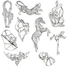 Mark Schneider Design - ideas for animal pendant / ornament