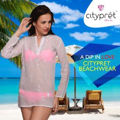 This Beachwear is made to keep your style quotient high even when you chill out..!