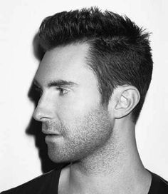 THE ADAM LEVINE HAIRSTYLE  How to Wear Your Hair Short 10 Best Short Haircuts for Men (3)
