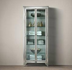 Vintage-style laboratory cabinet - Decoist