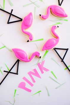 Throw a Flamingo-Themed Party With These 19 Must-Haves via Brit + Co