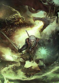 the Witcher 3 Fan Art