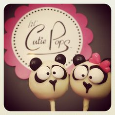 @lilcutiepops Panda Cake Pops Give us a call to place your order 732.383.5602 Lil Cutie Pops in Red Bank New Jersey #cakepop #party ORDER ONLINE: http://squ.re/1ByCj5S