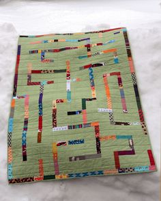 maze quilt :: top, 1 | Flickr - Photo Sharing!