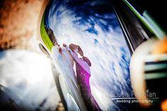 Wedding: Reflected kiss