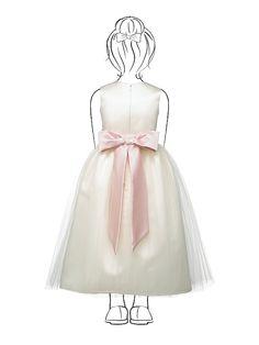 Flower Girl Dress FL4002 http://www.dessy.com/dresses/flowergirl/fl4002/#.UrX8hHlU3mI