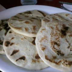 Pupusas at Balompie Cafe. 3349 18th Street, (415) 648-9199