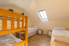 One of the bedrooms in the Gower Cottage. Bedrooms come with single beds, bunk beds and a double. Gower Peninsula, Single Beds, Cottage Bedrooms, Learn To Surf, Weekend Breaks, Paddle Boarding, Outdoor Activities, Bunk Beds, Wales