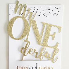 Mr Onederful Cake Topper, Mr Wonderful First Birthday Party, Boys 1st Birthday Decorations, Decor, Cake Smash Theme This listing is for one Mr ONEderful wonderful cake topper in the width and finish of your choice. Check out our stores feature section for matching items including