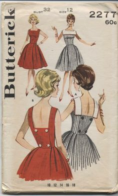 Butterick 2277 sewing pattern