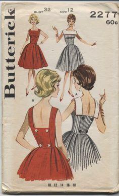 Butterick 2277 sewing pattern