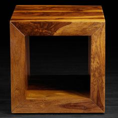 """Artemano SumSum Cube Side Table 18"""" H x 18"""" W x 18"""" D $275.99"""