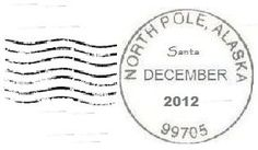 How To Get A Letter From Santa Postmarked From The North Pole: It's simple to do, you can customize as much as you want, and it will only cost you a stamp!