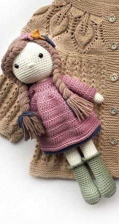 New and friendly Amigurumi Crochet PAttern Design Part 35 - Stricken ist so . - New and friendly Amigurumi Crochet PAttern Design Part 35 – Stricken ist so einfach wie - Doll Amigurumi Free Pattern, Crochet Amigurumi Free Patterns, Amigurumi Doll, Diy Crochet Doll, Knit Crochet, Knitting Patterns, Knitted Doll Patterns, Crochet Slippers, Knitting Ideas