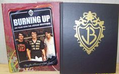 Burning Up : On Tour with the Jonas Brothers ~ Joe Kevin & Nick Jonas FIRST 1st