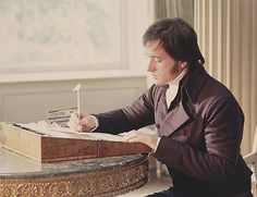 You write uncommonly fast, Mr. Darcy...